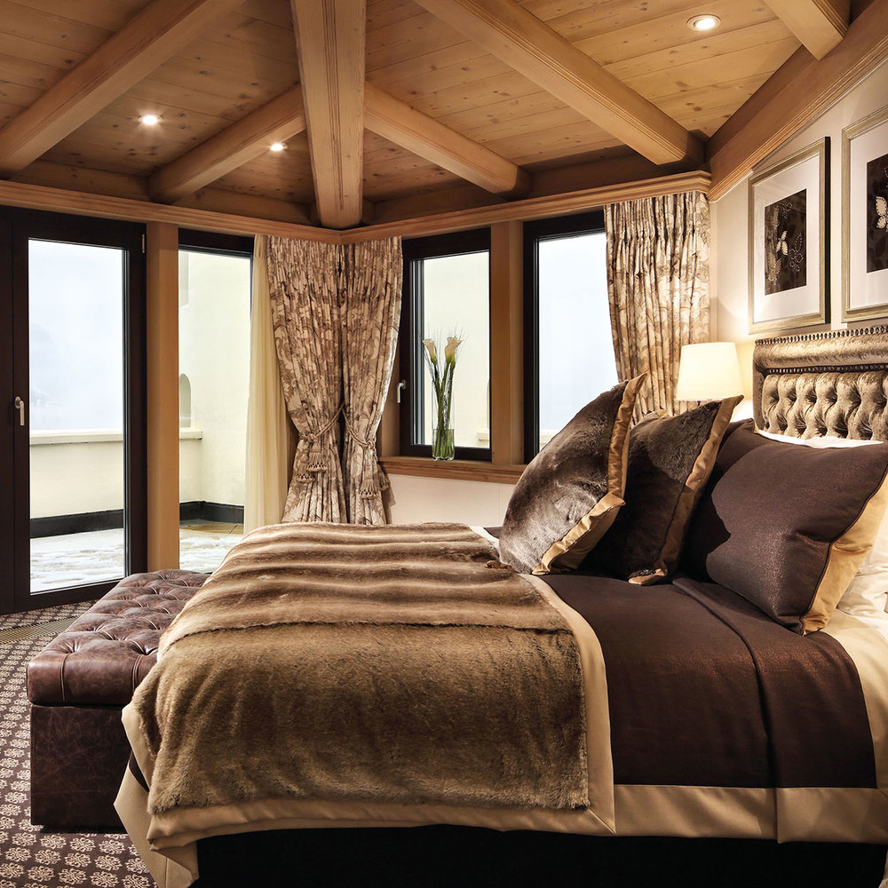 Penthouse Suite, Gstaad Palace in Gstaad, Switzerland
