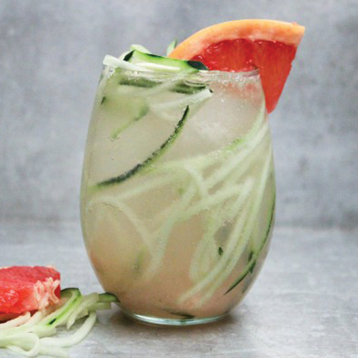 Grapefruit and Cucumber Delight