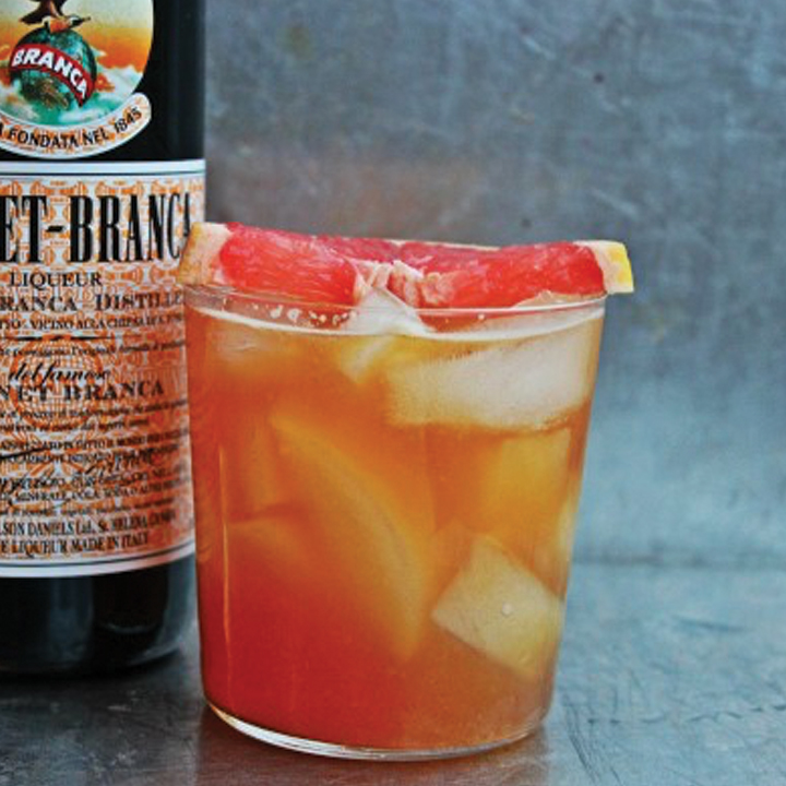 Grapefruit Fernet Cooler
