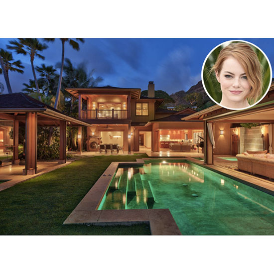 Emma Stone: A 4-Bedroom Villa in Hawaii