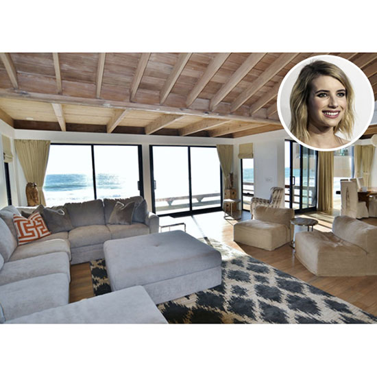Emma Roberts: A 5-Bedroom Home in Malibu