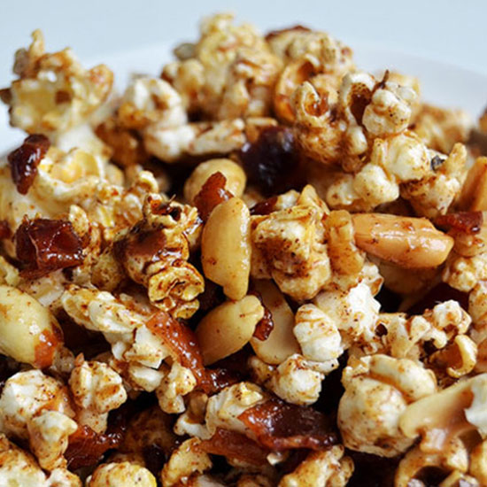 Bacon-Peanut Caramel Corn