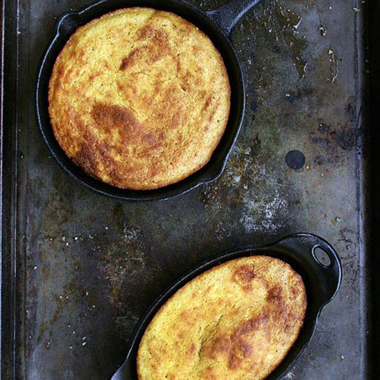 Buttermilk Bacon Grease Corn Bread
