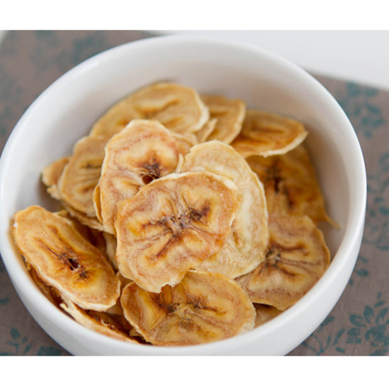 Bake Them Into Banana Chips