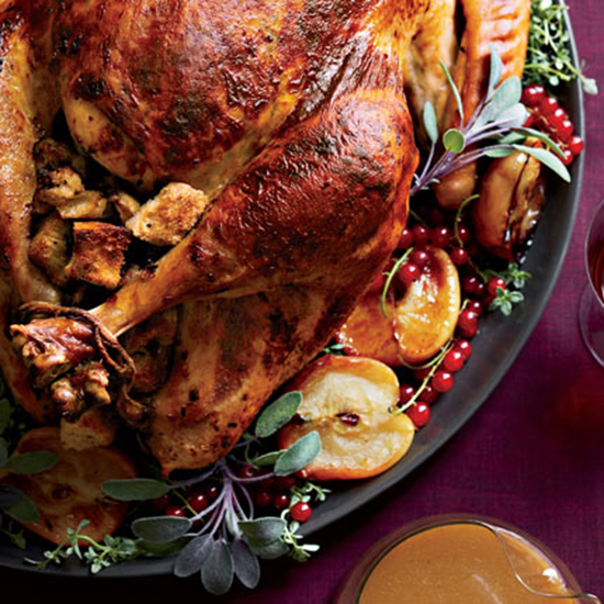 France: Turkey with Chestnut Stuffing