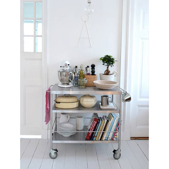 Invest in a Bar Cart