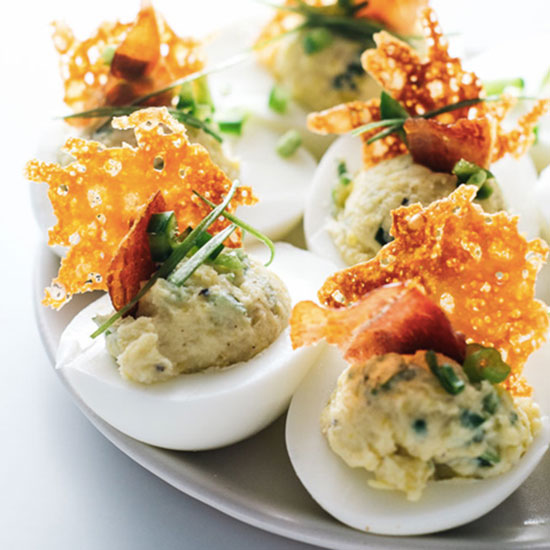 Jalapeño Popper Deviled Eggs