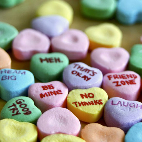 It's Complicated – Candy Hearts