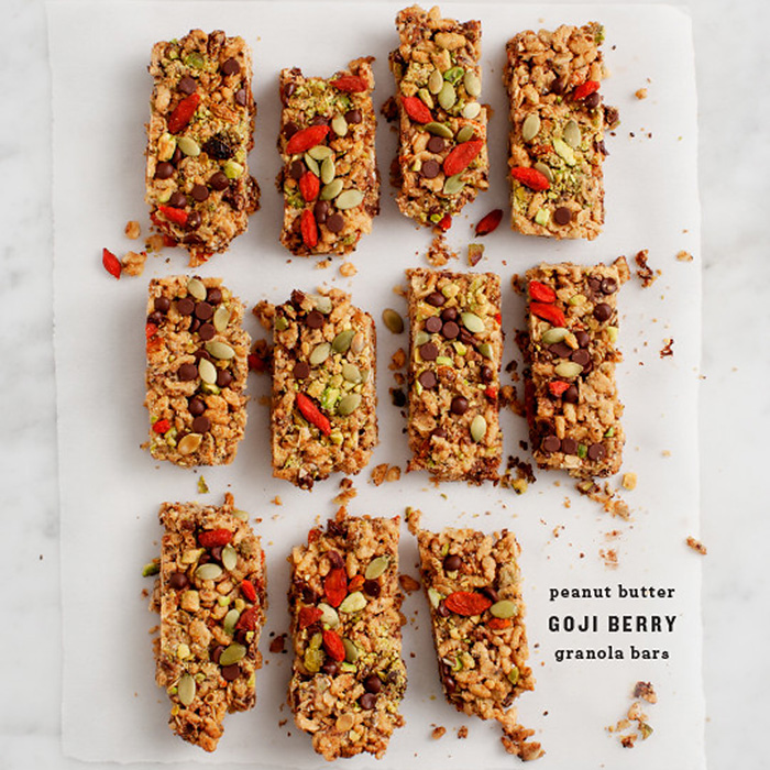 goji berry, goji berry recipes, peanut butter