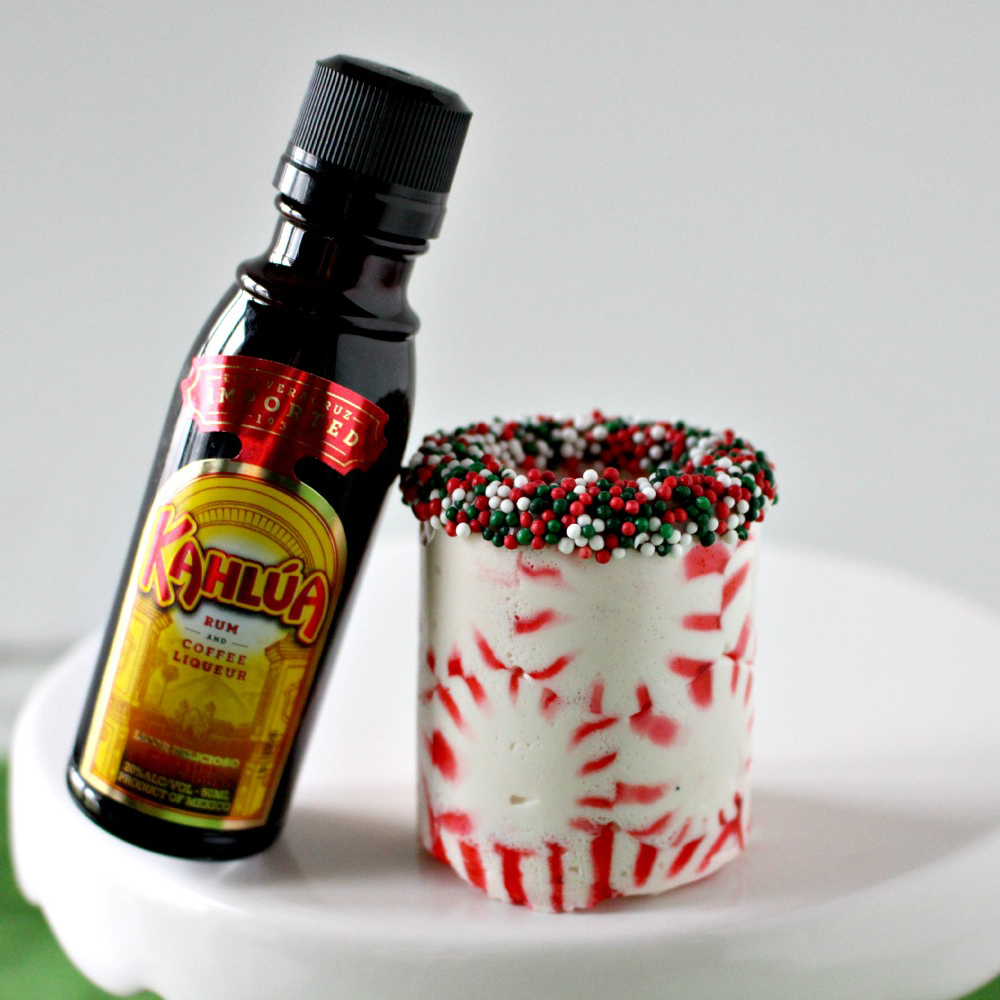 Peppermint Candy Kah​lua Shot