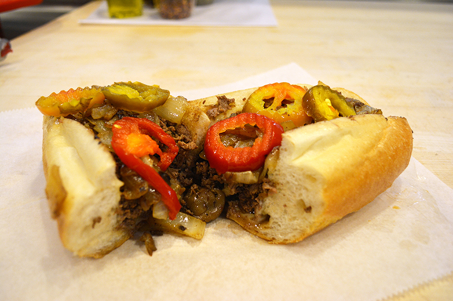 For a Cheesesteak Lunch: Jim's Steaks