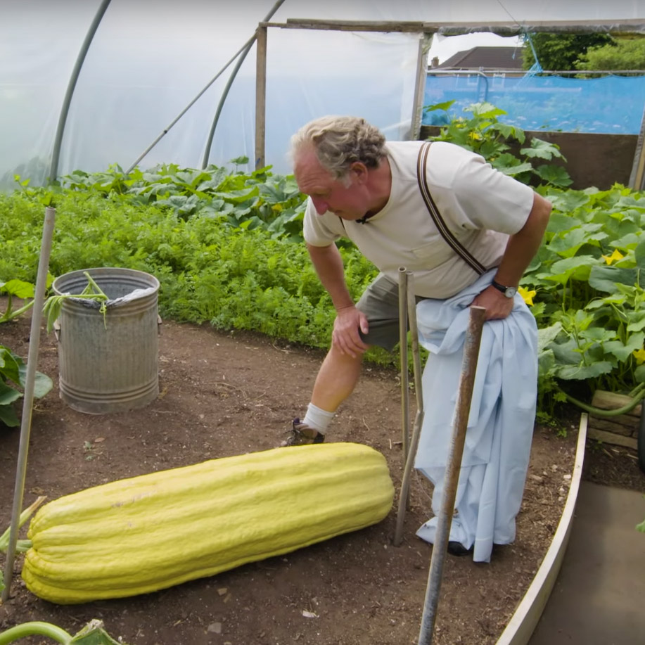Meet A Man Who Has Dedicated His Life To Growing Giant Vegetables