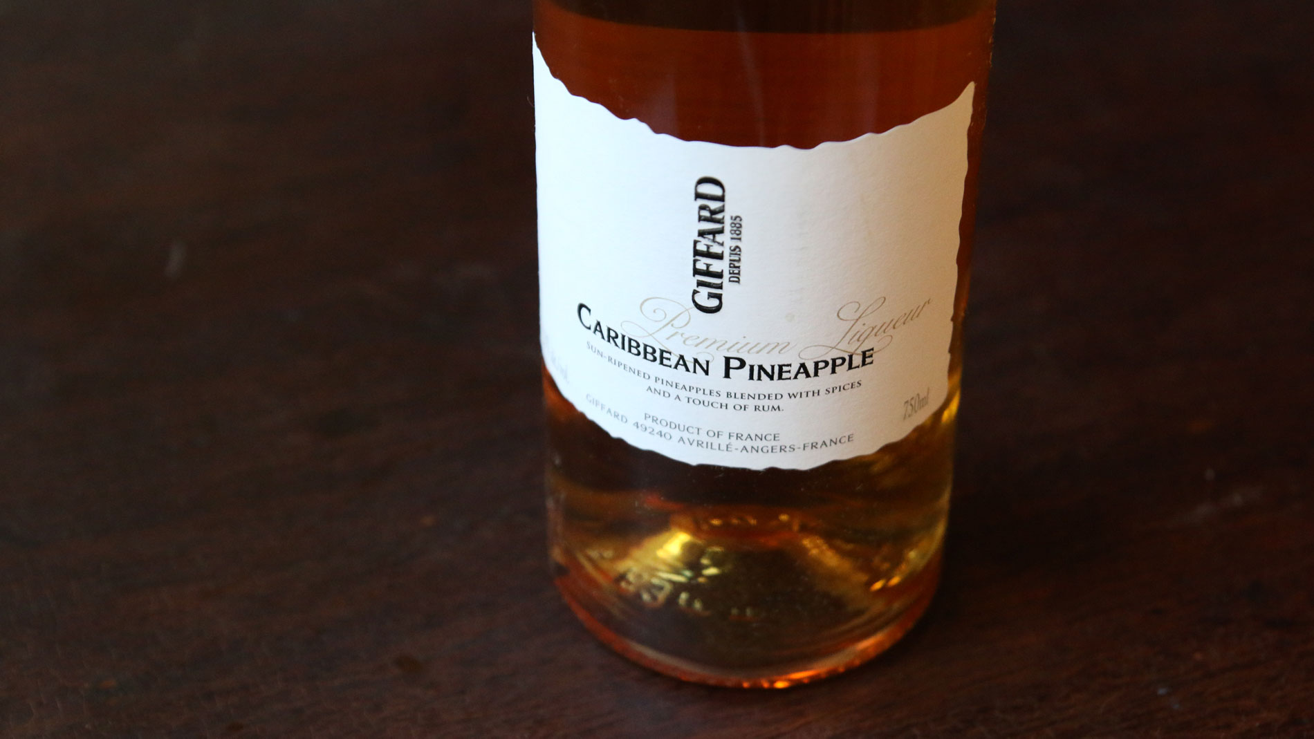 Pineapple Liqueur