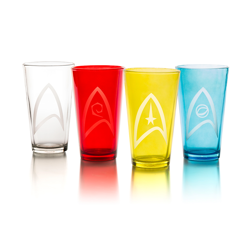 Star Trek Pint Set