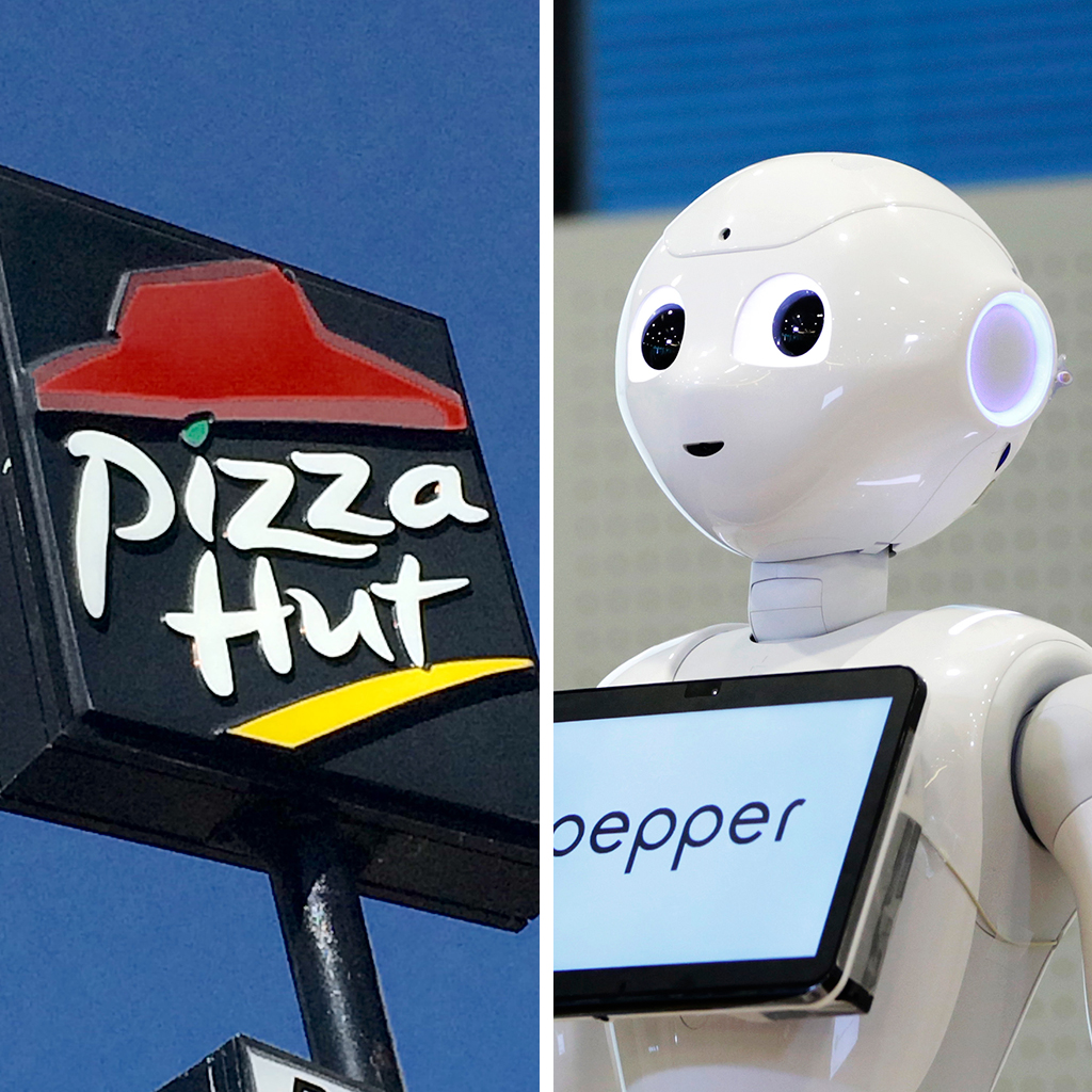 Pizza Hut, Pepper Robot