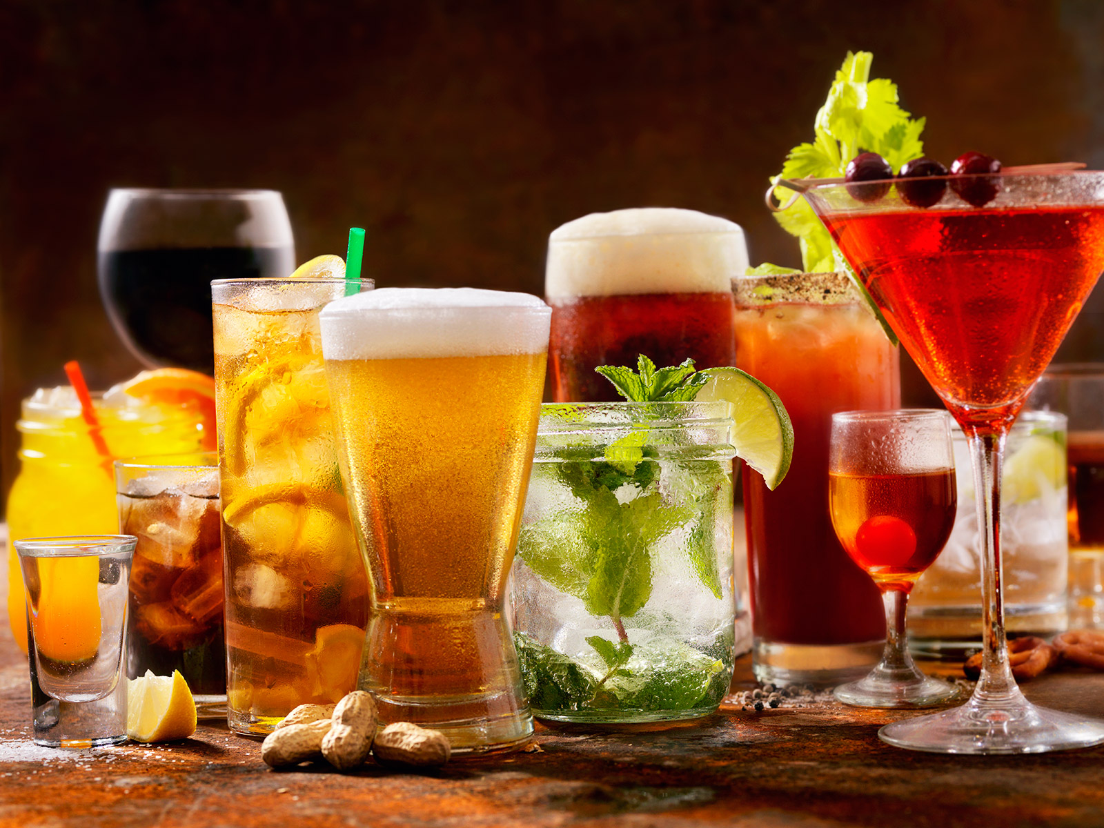 Beer vs. Wine vs. Liquor: The Most-Ordered Alcohol in Your ...