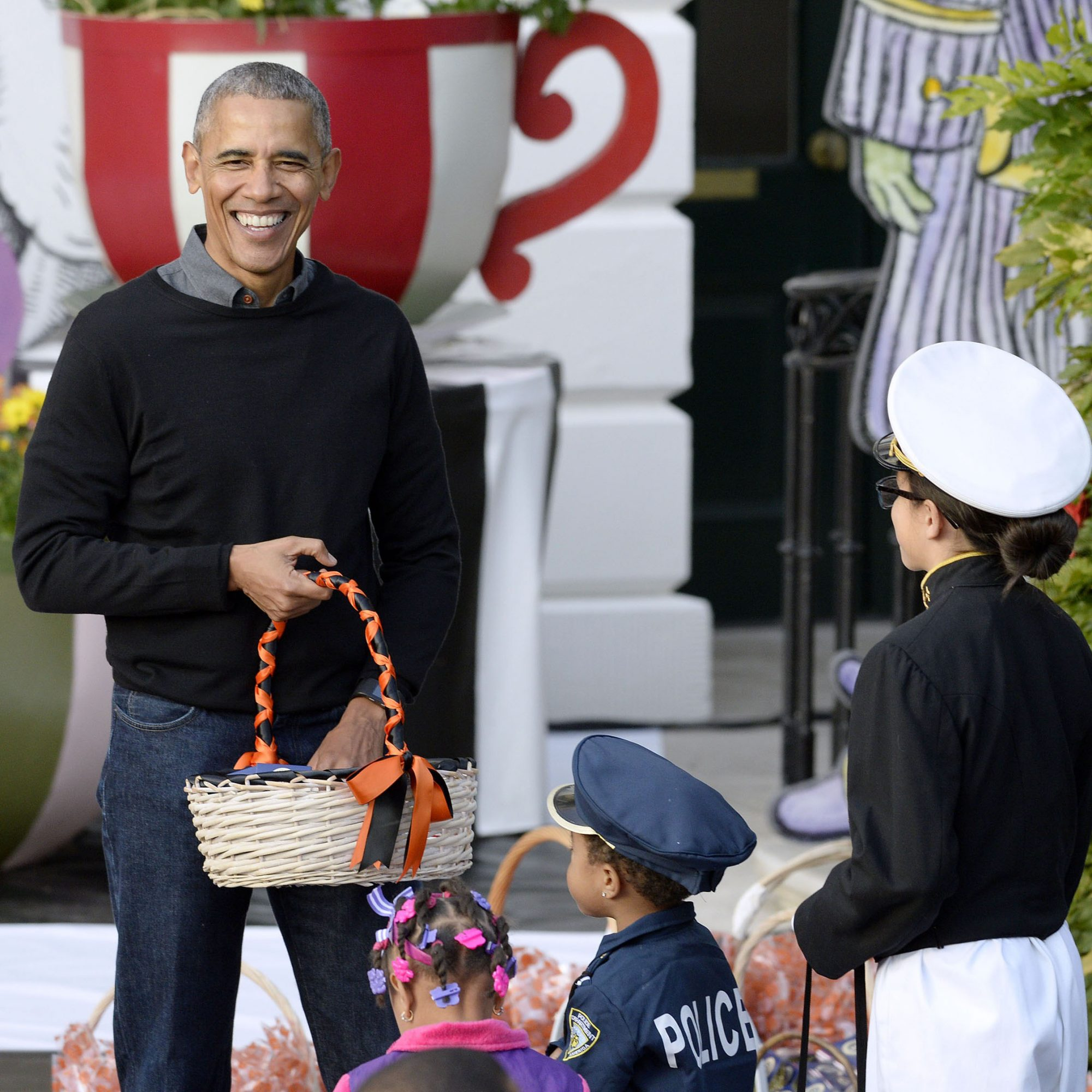 The Obamas Prove You'll Only Want to Trick-or-Treat at the White House