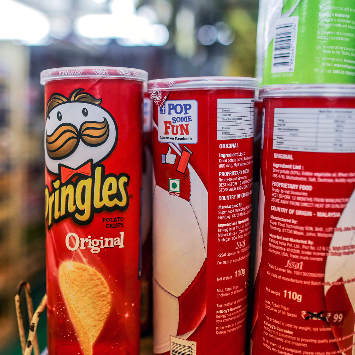 Pringles Mystery Flavors
