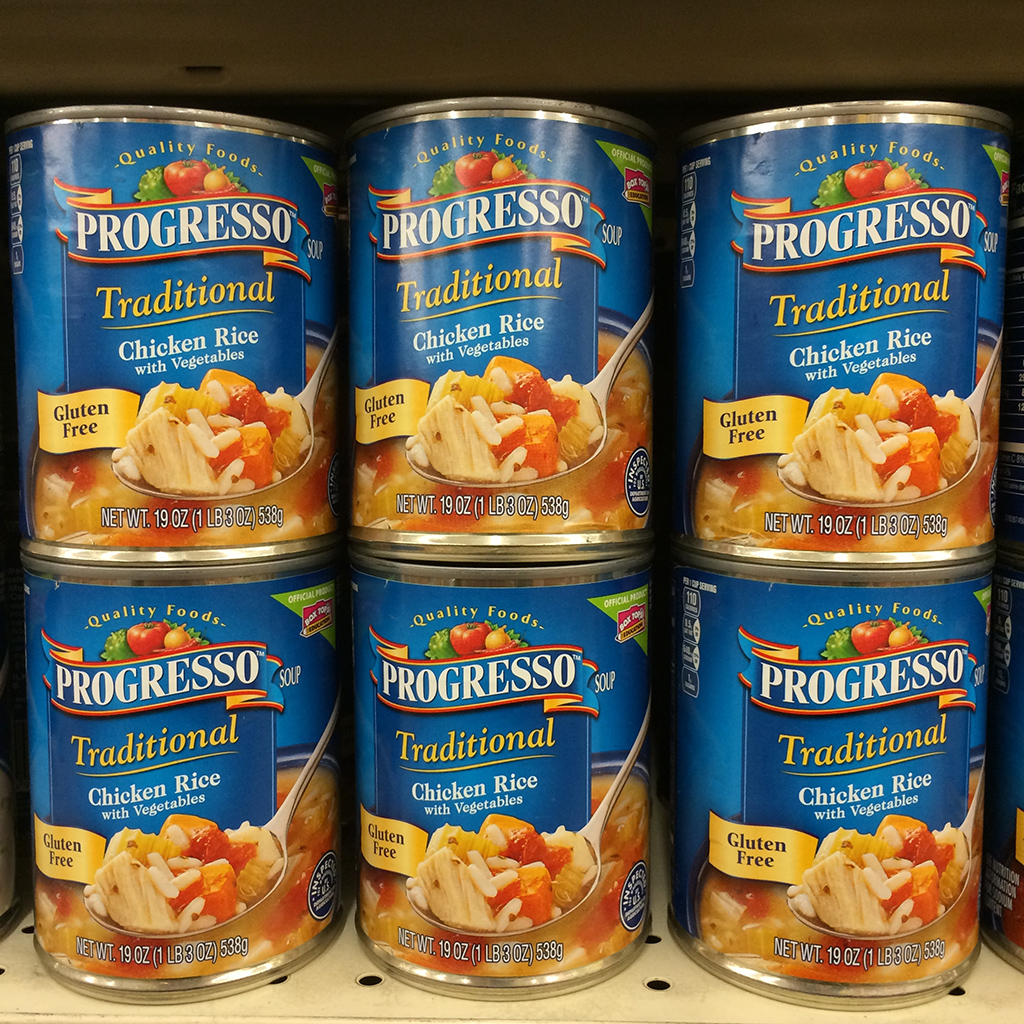 PROGRESSO SOUPS NOT LOCAL FWX