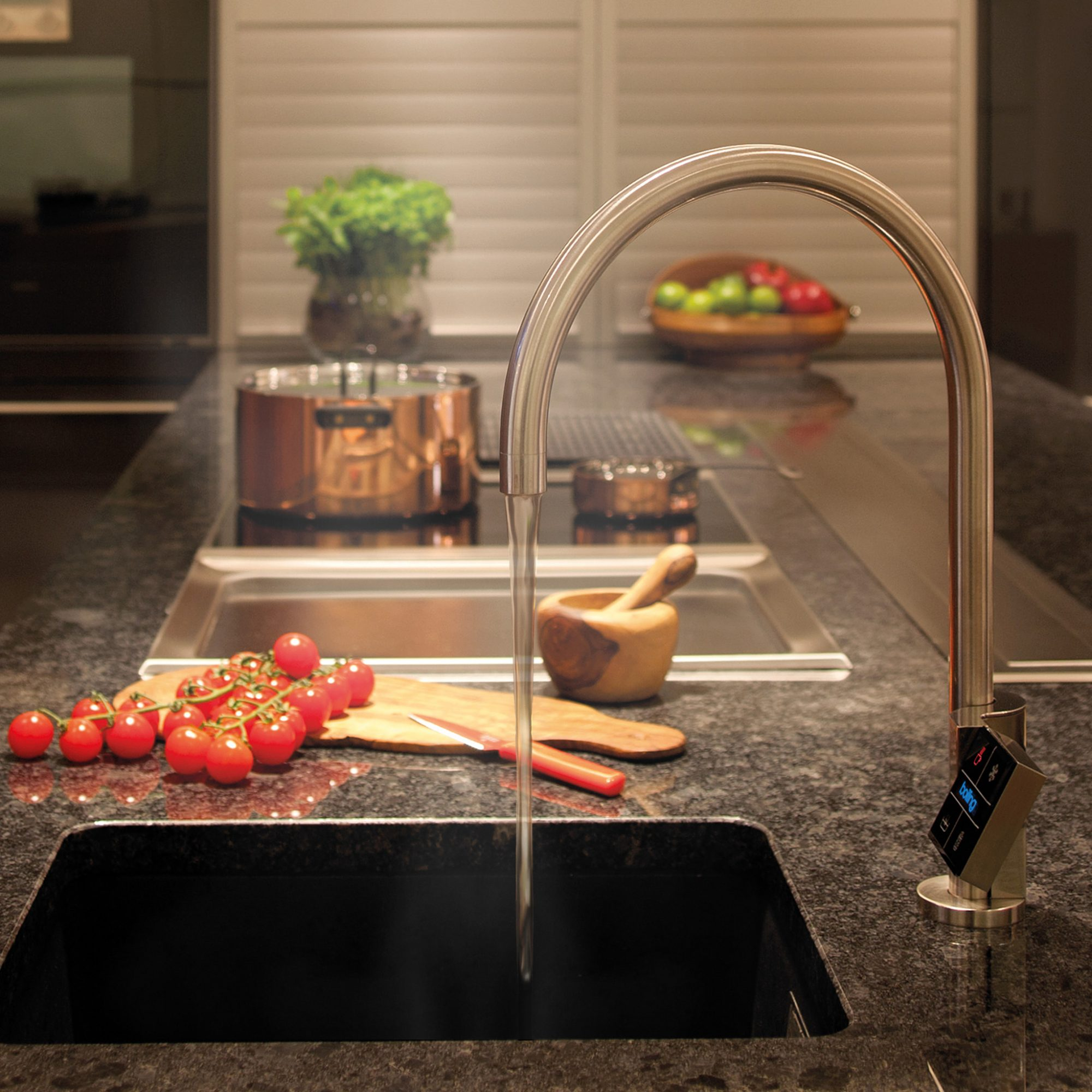 The Pure H2O Co., Quatreau, Faucet, Sink