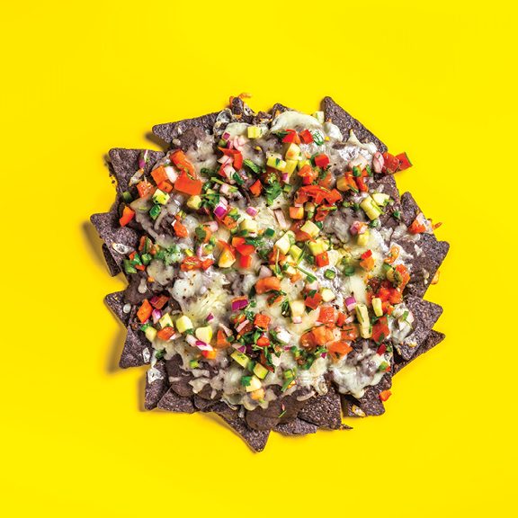 Black & Blue Nachos