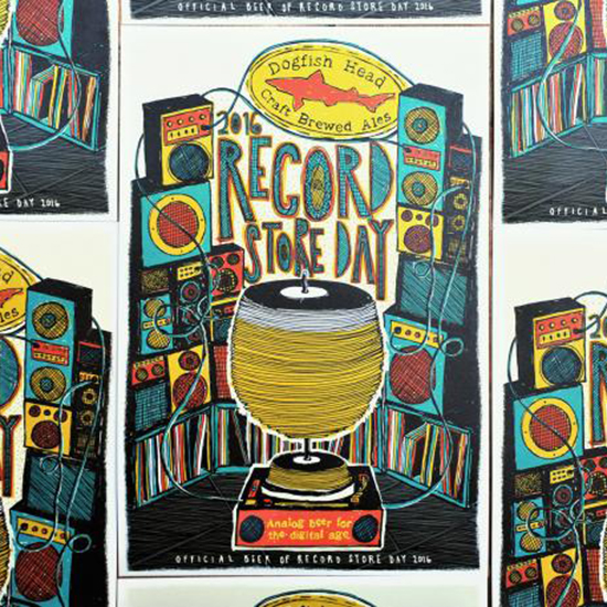 RECORD STORE DAY POSTERDOGFISH FWX 1