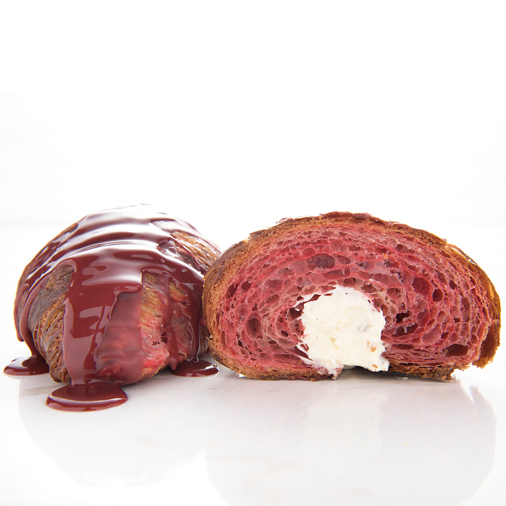 Red Velvet, Croissant, Union Fare