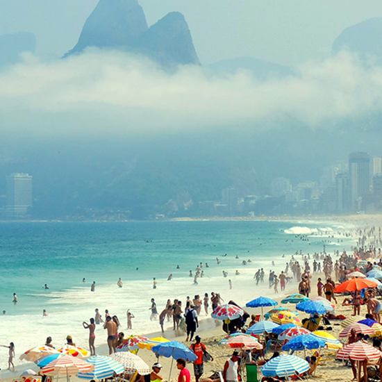 Best for Fun and Games: Ipanema Beach (Rio de Janeiro, Brazil)