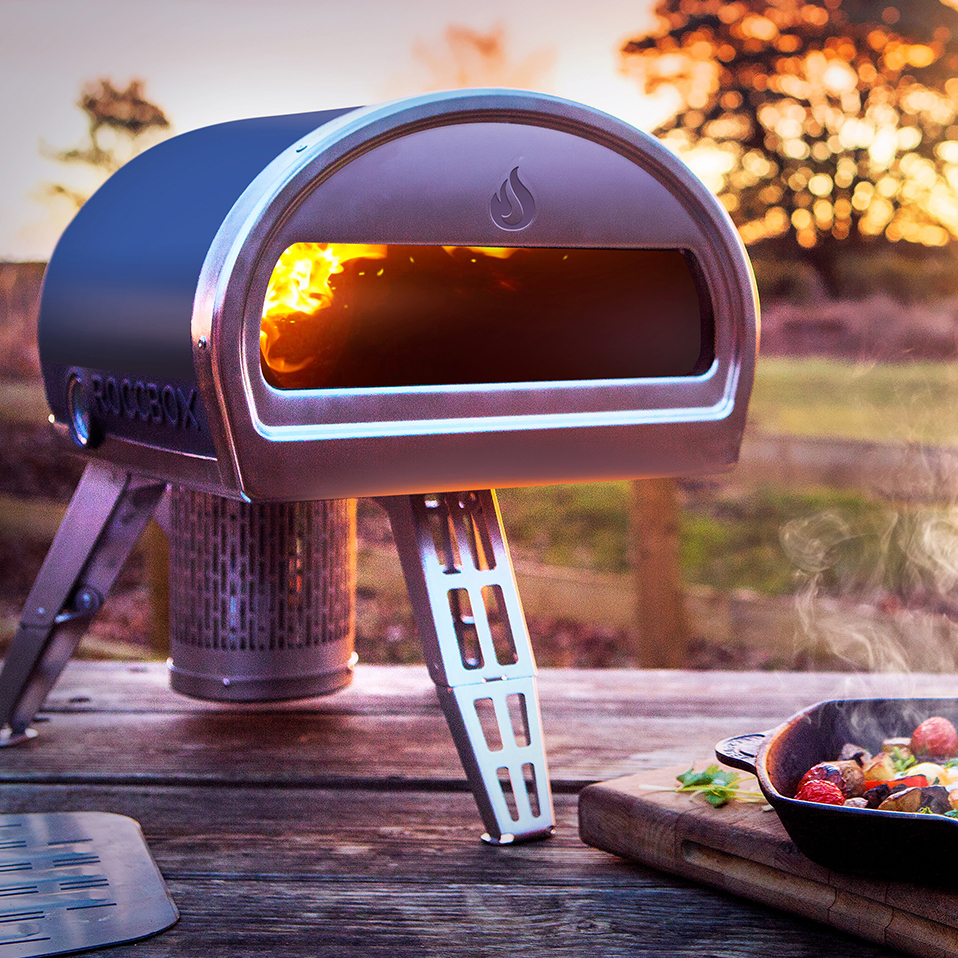 This Portable Pizza Oven is Big on Style