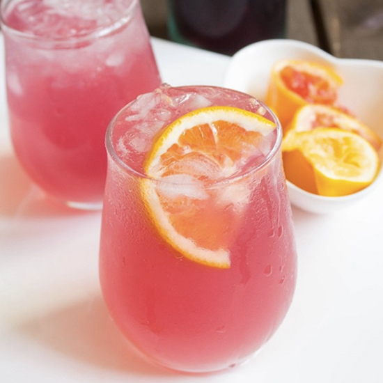 Rosé Blood Orange Lemonade