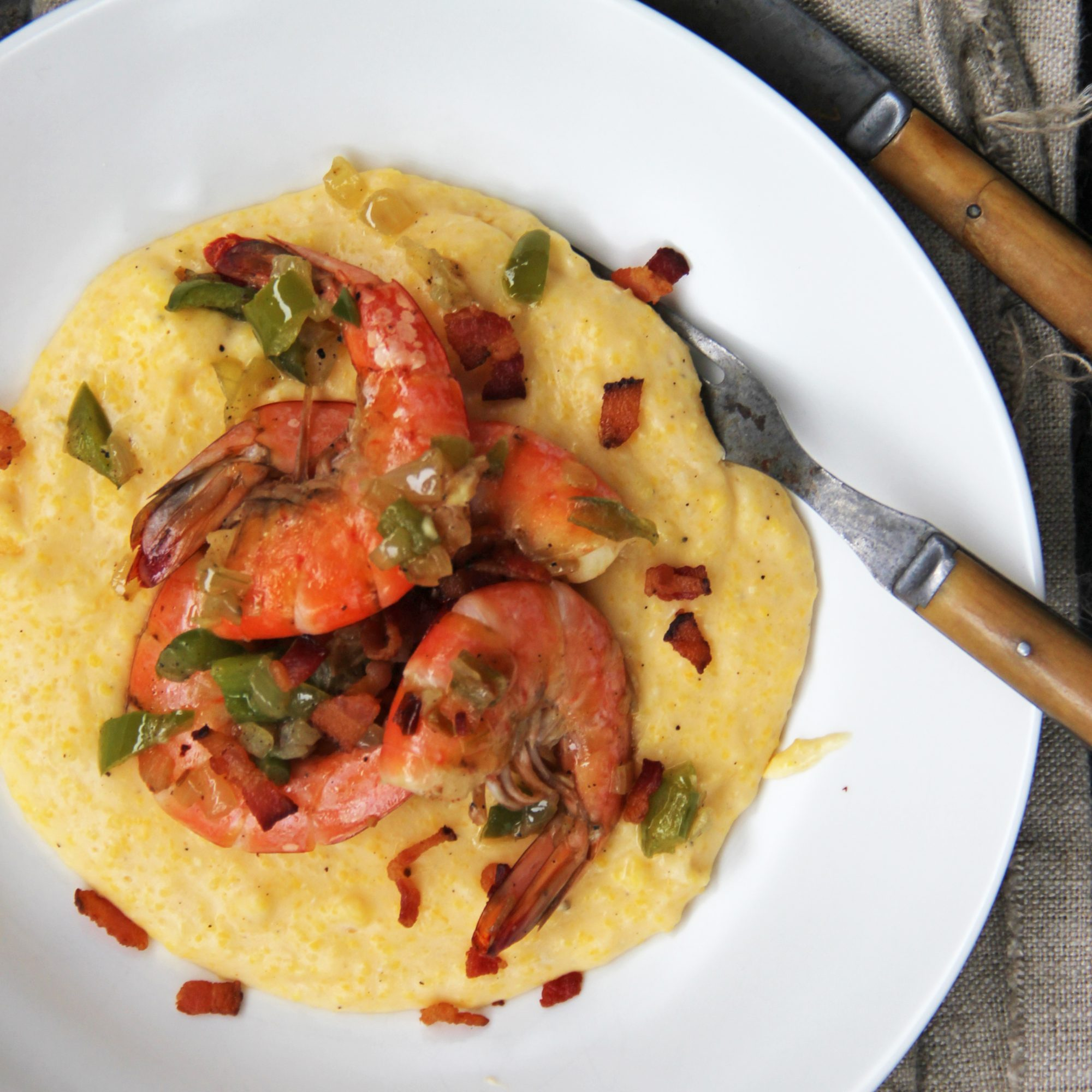 March 31: Shrimp and Cheese Grits