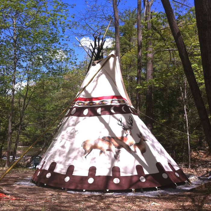 Airbnb, outdoor, rental, tipi