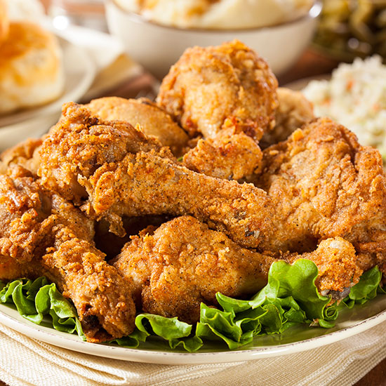 Myth #1: Fried chicken tastes best when placed in an oven to crisp.
