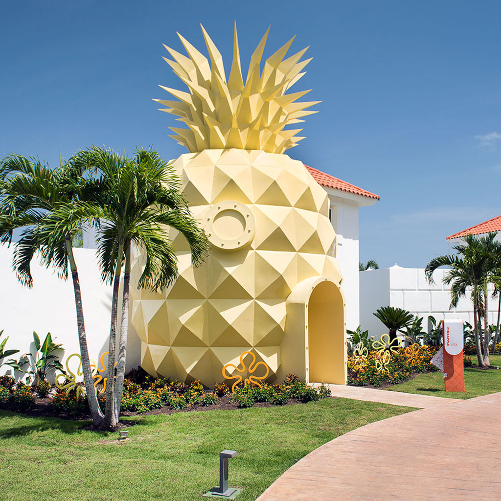 You Can Rent Spongebob's Pineapple House