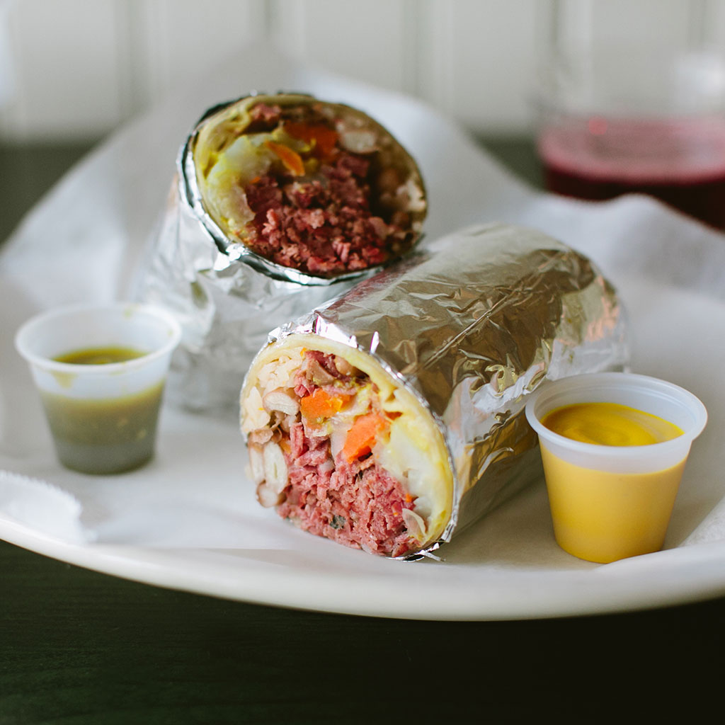 ST PATRICKS DAY BURRITO FWX
