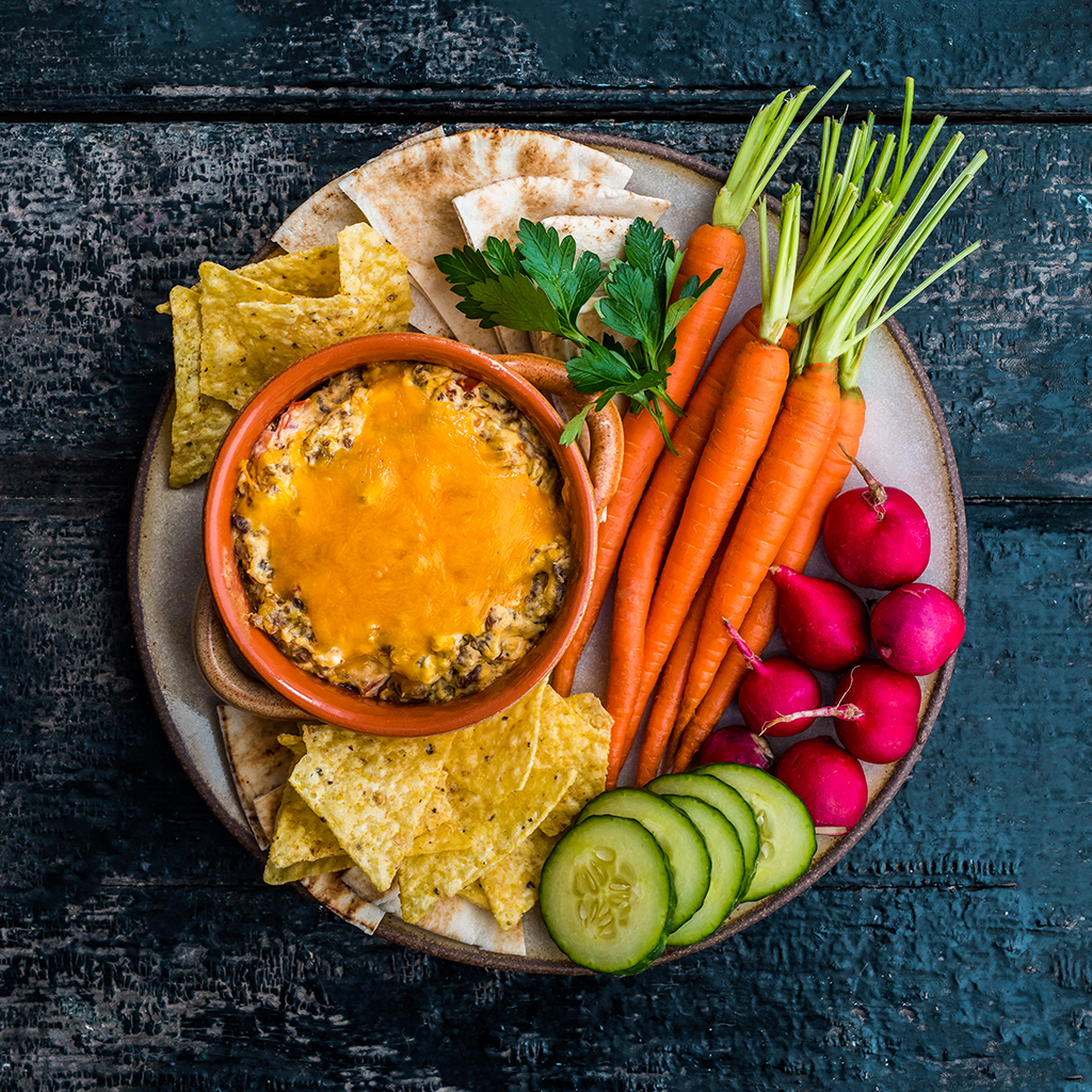 Aged Cheddar and Sausage Dip