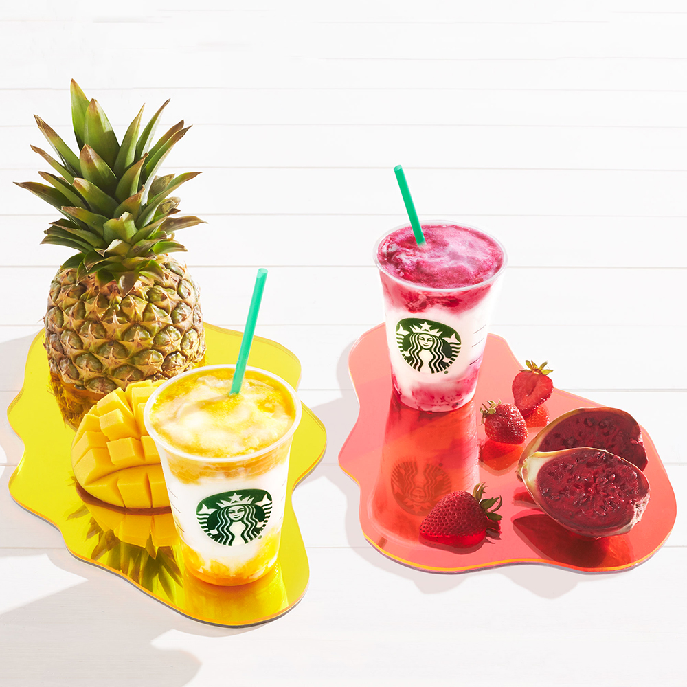 fruity frappes colors of summer