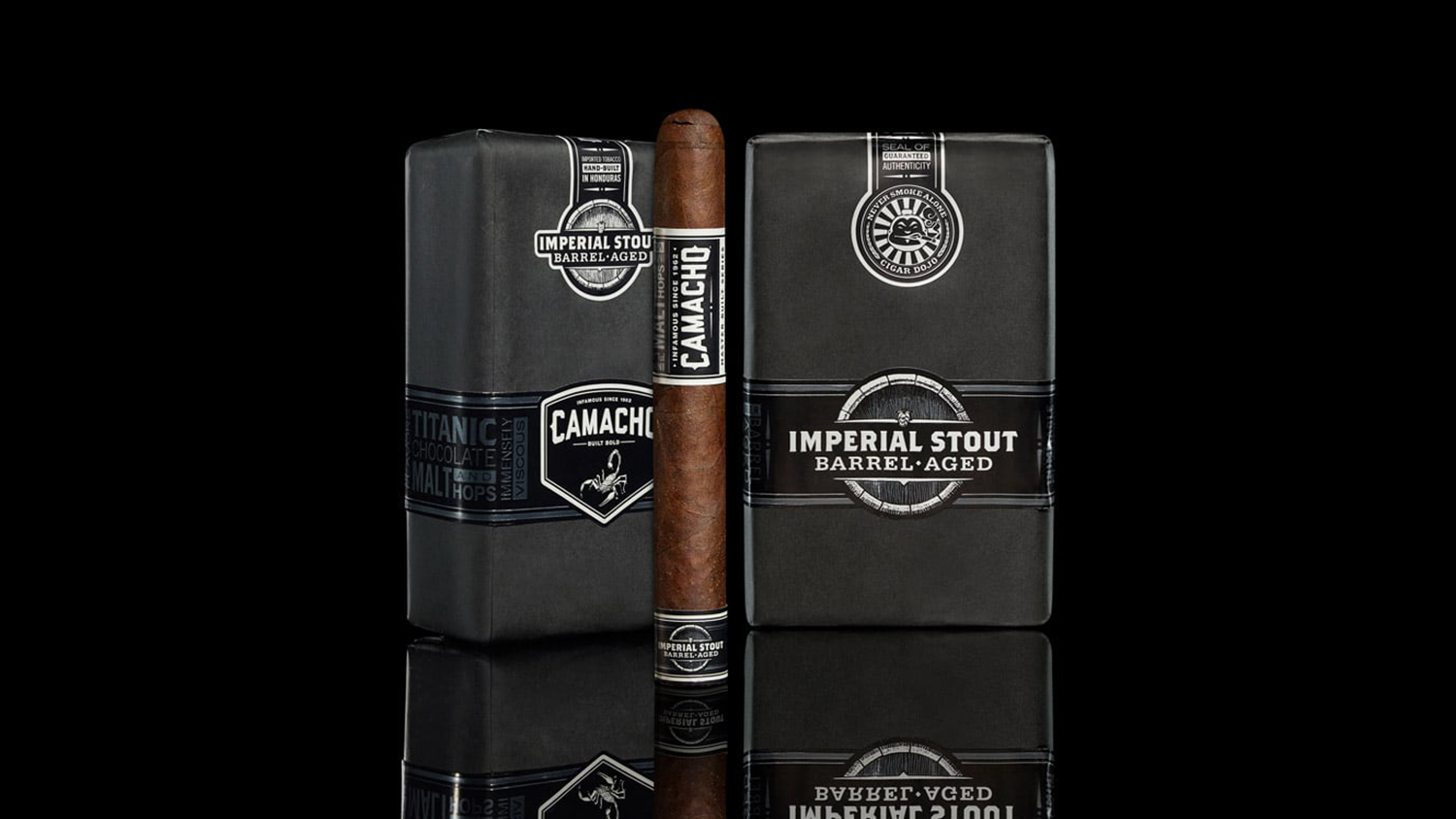 You Can Now Smoke a Cigar Infused with Barrel-Aged Oskar Blues Ten FIDY Stout