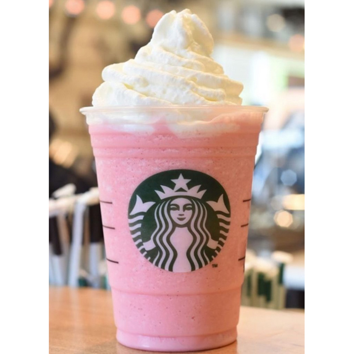 Strawberries and Crème Frappuccino