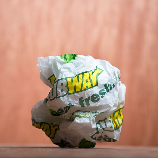 UPDATED: Your Subway Chicken May Be Only 50 Percent Chicken