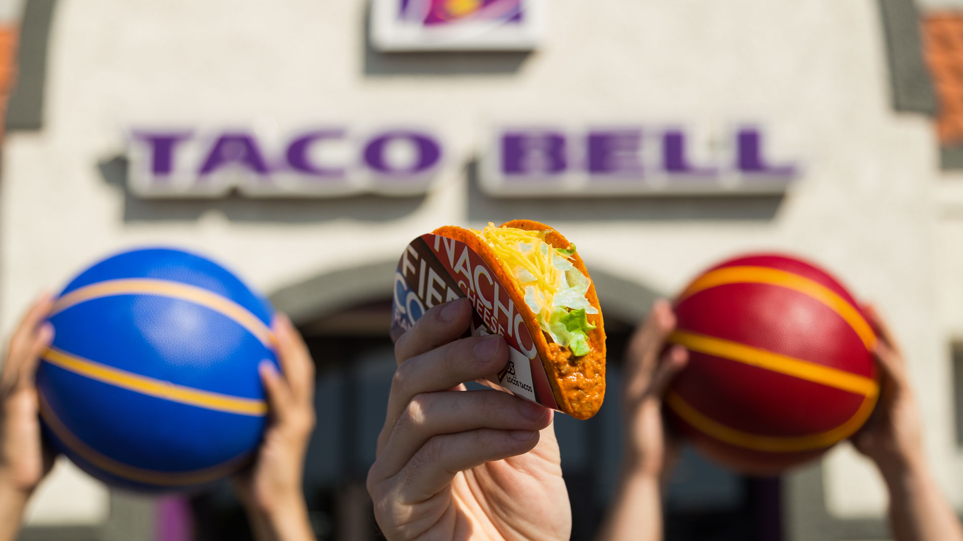 congratulations we all just won free tacos at taco bell on june 13