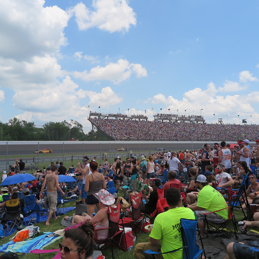 Tailgating, Indy 500