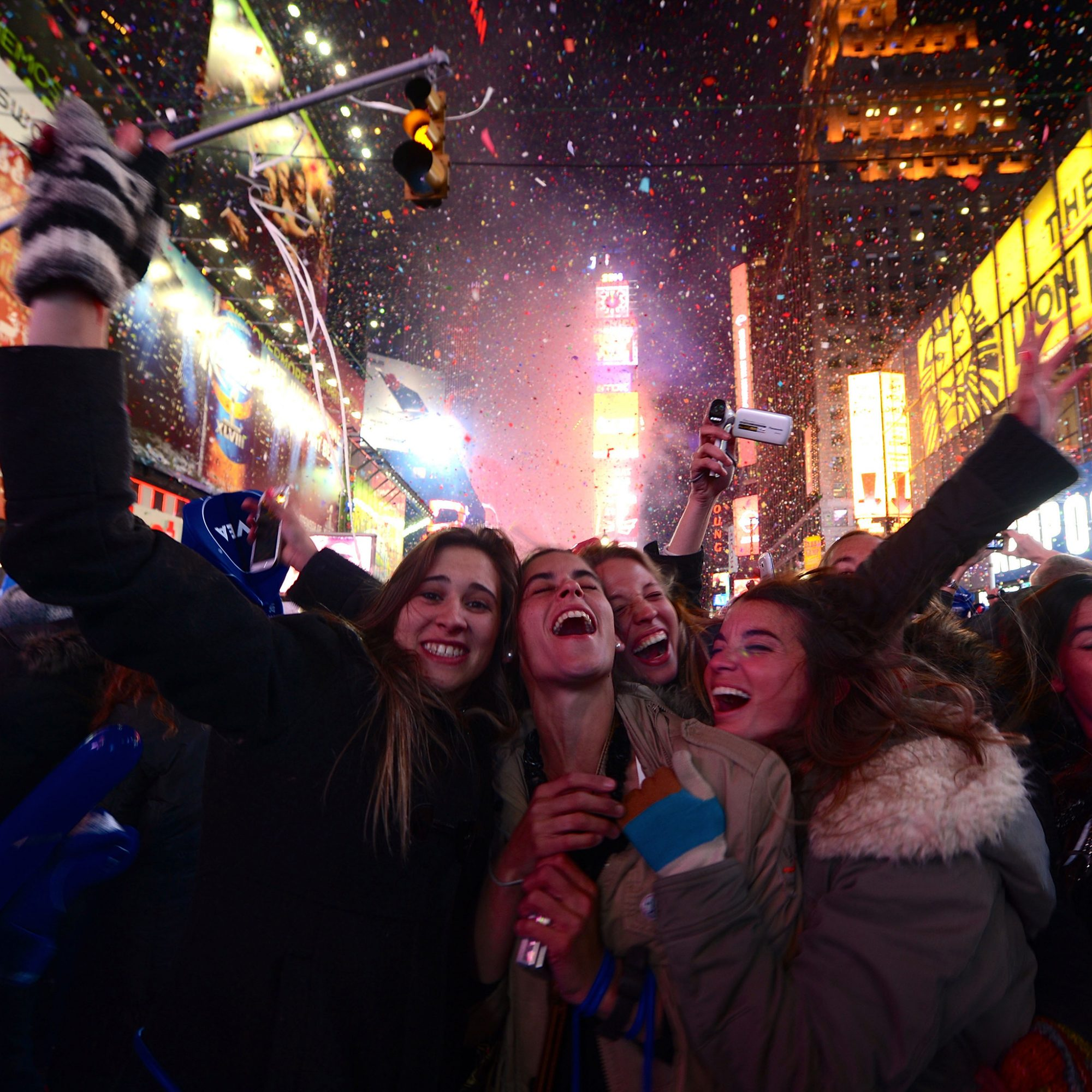 TIMES SQUARE NEW YEARS EVE FWX
