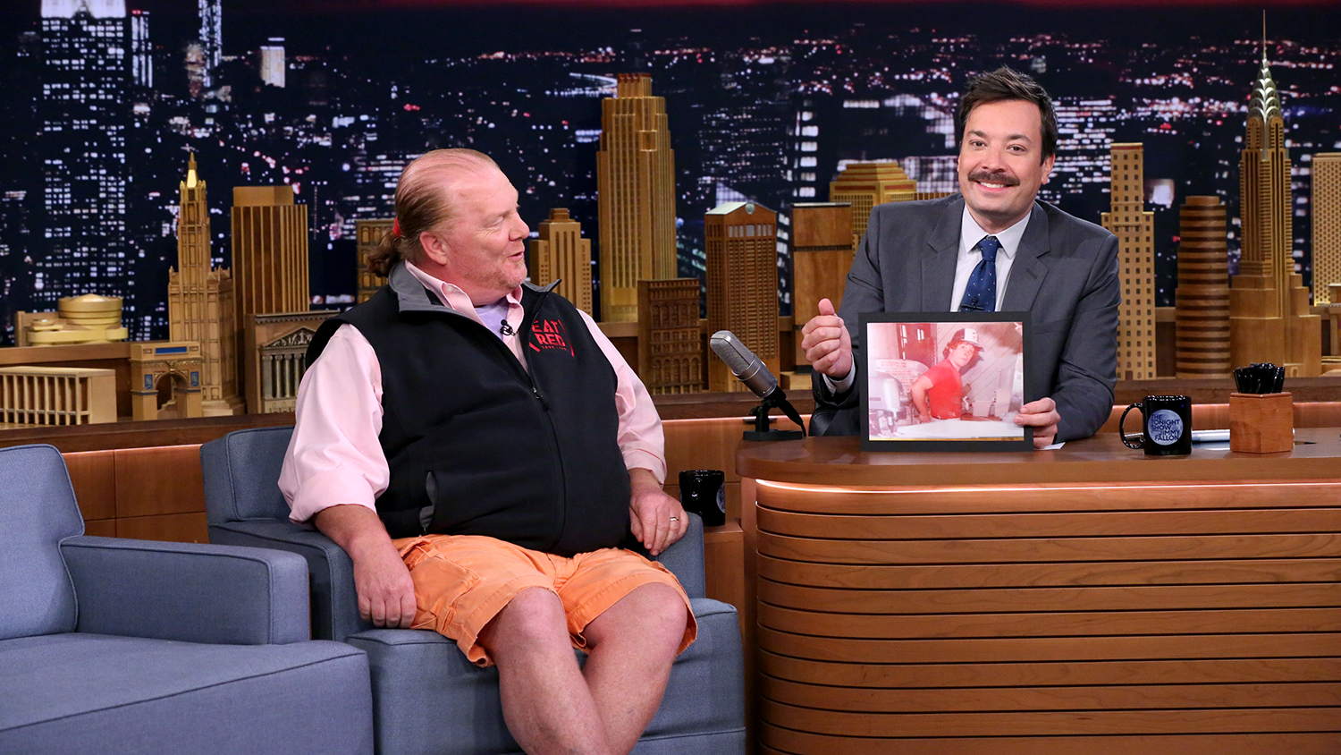 "Watch Mario Batali and Jimmy Fallon Play ""Secret Ingredient"" on The Tonight Show"
