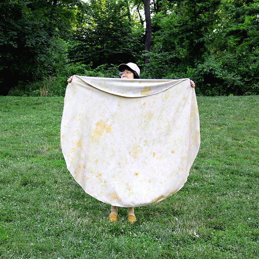 Transform Into a Burrito with the Tortilla Towel