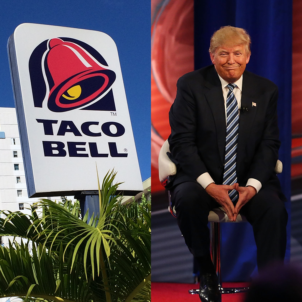 A Taco Bell PAC Maxed Out Its Giving to the Trump Campaign