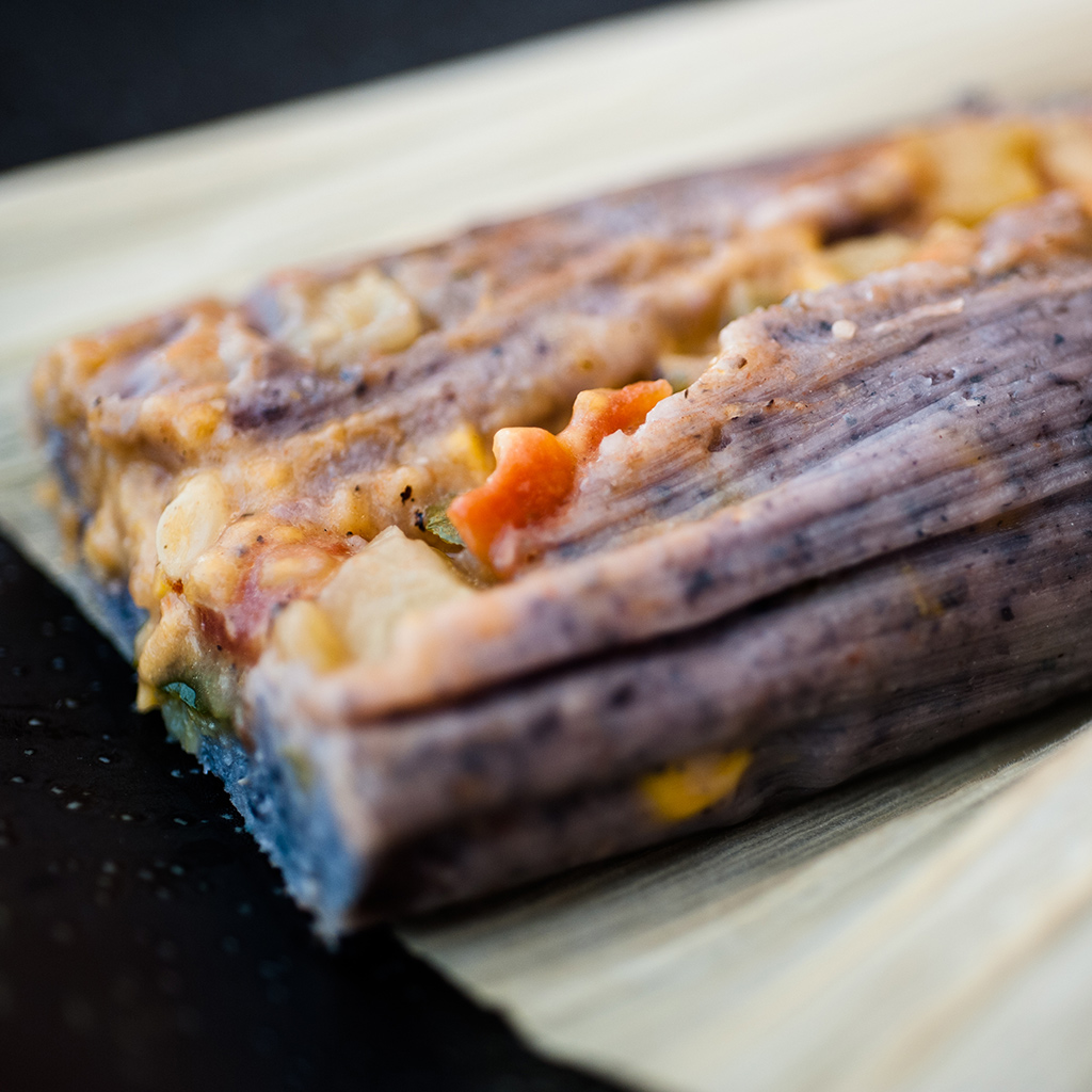 Red, White and Blue Tamales