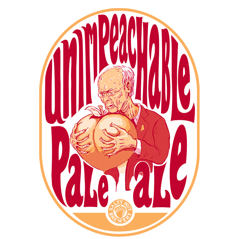 Salty Nut Brewery, Unimpeachable Pale Ale, beer, ale, brewery