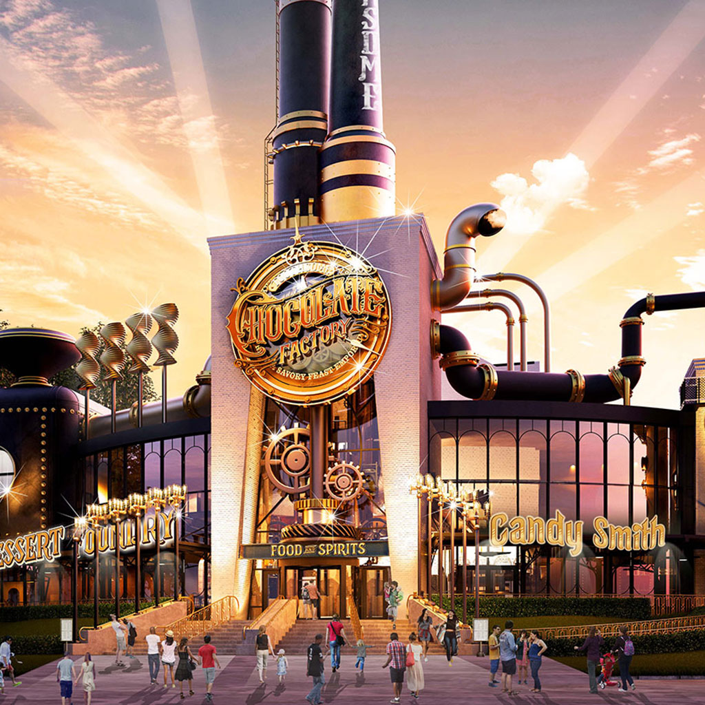 Universal Is About to Open A Steampunk Chocolate Fantasy Land