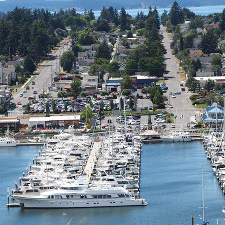 US small town anacortes washington